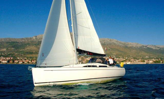 salona 34 performance cruiser  yacht charter Croatia