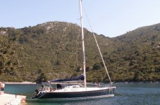 Grand Soleil 50 at marina Marina Punat in Island of Krk.