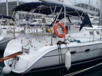 Hunter 44 DS at marina Marina YC Seget in Trogir.