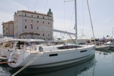 Jeanneau 53 at marina ACI Marina Split in Split.
