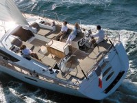 Beneteau oceanis clipper 473 rent a sailing yacht on Adriatic