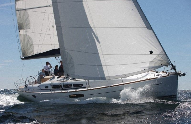 Jeanneau sun odyssey 44i rent a yacht on Adriatic