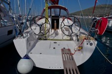 Salona 35 High Performance Cruiser at marina ACI Marina Trogir in Trogir.