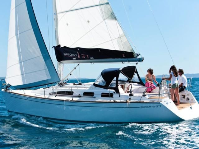 salona 37 yacht charter in croatia