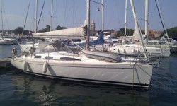 Salona 37 at marina Marina Tankerkomerc in Zadar.