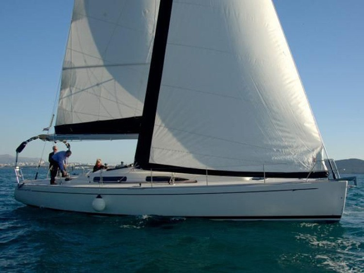 salona 42 performance cruiser yacht charter Croatia