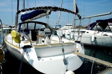 Salona 45 at marina Marina Tankerkomerc in Zadar.